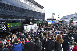 Podium: ganadores, Ricky Taylor, Jordan Taylor, Max Angelelli, Jeff Gordon, Wayne Taylor Racing, GTL