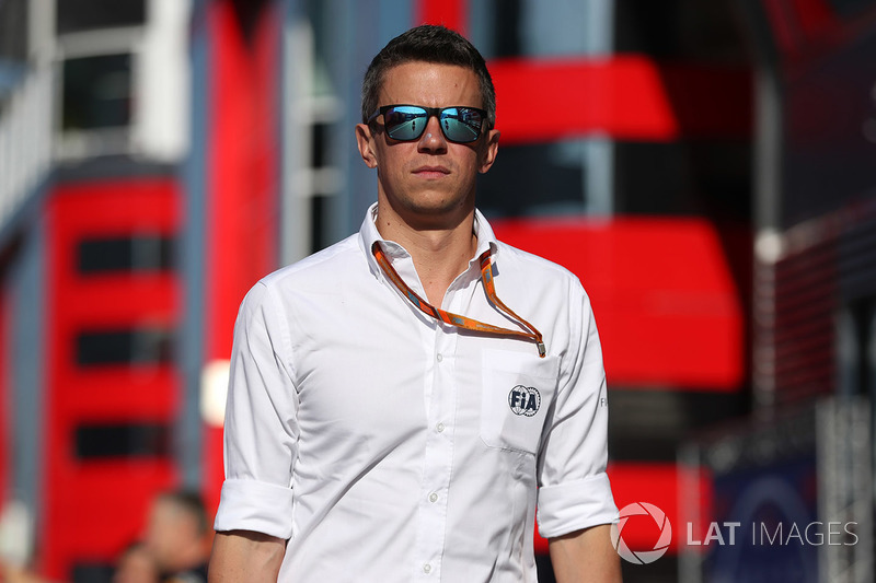 Marcin Budkowski, directeur technique de la FIA pour le Championnat du monde de F1