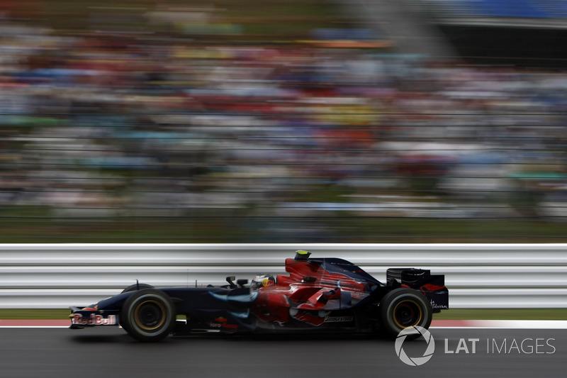 2007: Toro Rosso STR2 Ferrari (одно четвертое место, 7-е место в КК)