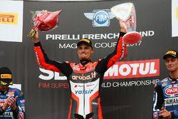 Yarış galibi Chaz Davies, Ducati Team