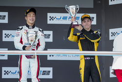 Podium: Nirei Fukuzumi, ART Grand Prix, Jack Aitken, ART Grand Prix