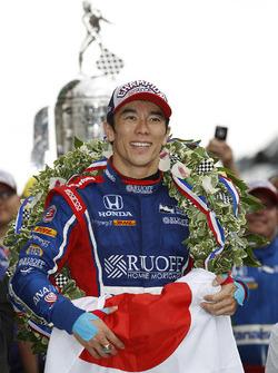 Winnaar Takuma Sato, Andretti Autosport Honda