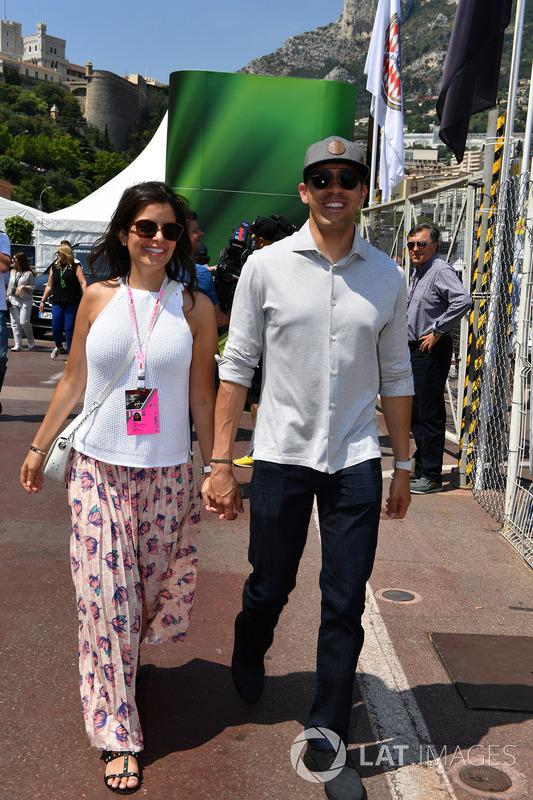 Pastor Maldonado ve eşi Gabriella Tarkany