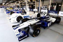 A Juan Pablo Montoya Williams BMW, 1999 Le Mans V12 LMR, classic F1 machinery