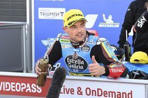 Ganador de la pole Sam Lowes, Marc VDS Racing