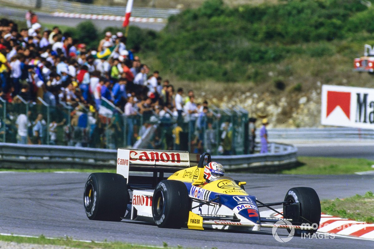 1986: Nigel Mansell, Williams FW11 Honda
