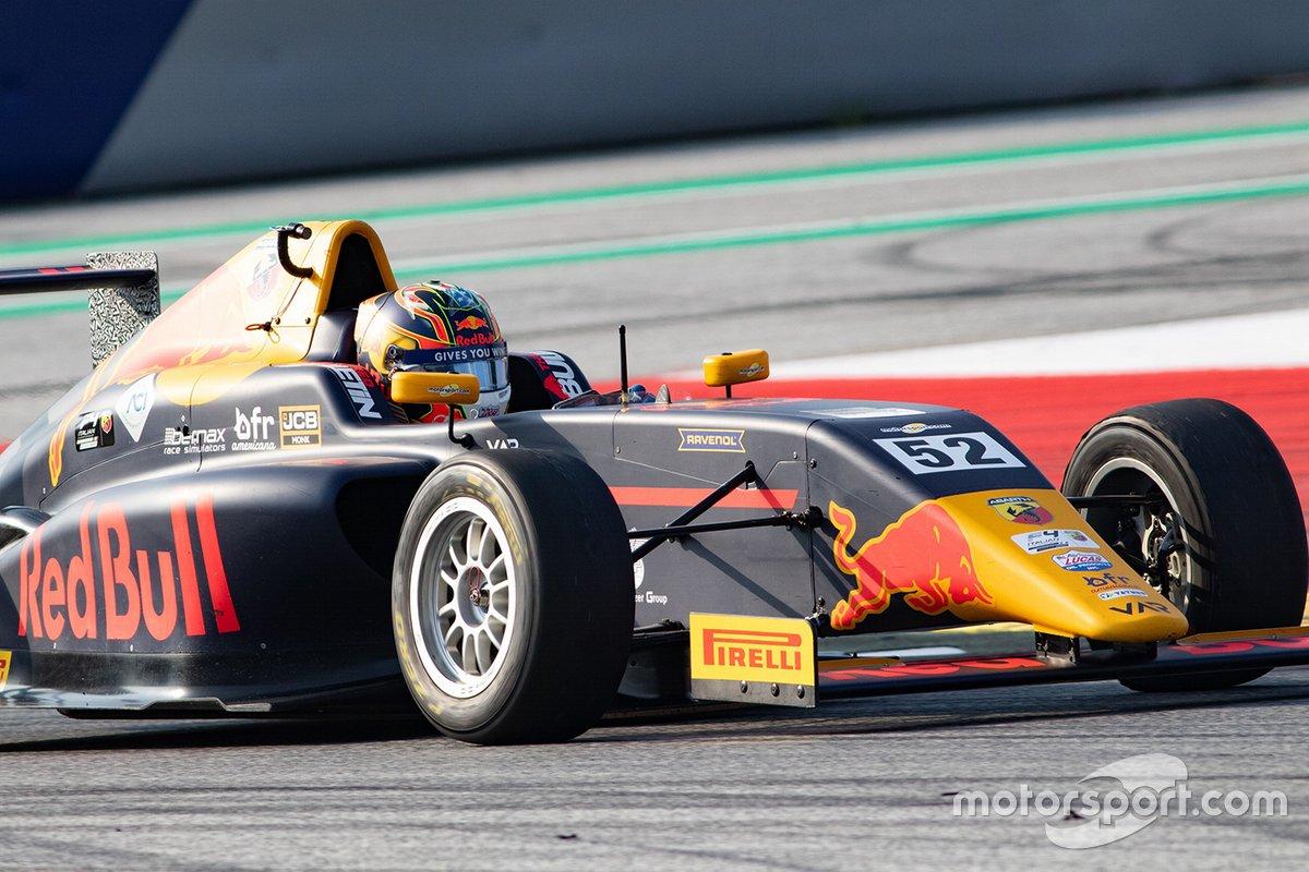 Crawford Jak, Tatuus F.4 T014 Abarth #52, Van Amersfoort Racing