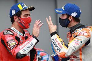 1. Danilo Petrucci, Ducati Team, 2. Alex Marquez, Repsol Honda Team