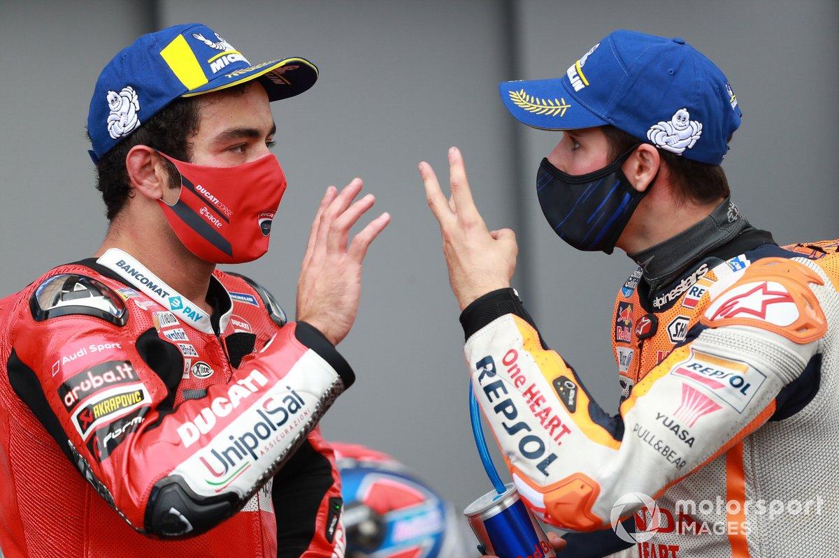 Danilo Petrucci, Ducati Team , Alex Marquez, Repsol Honda Team