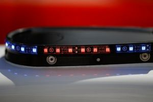LED lights #7 Acura Team Penske Acura DPi, DPi: Helio Castroneves, Ricky Taylor, details