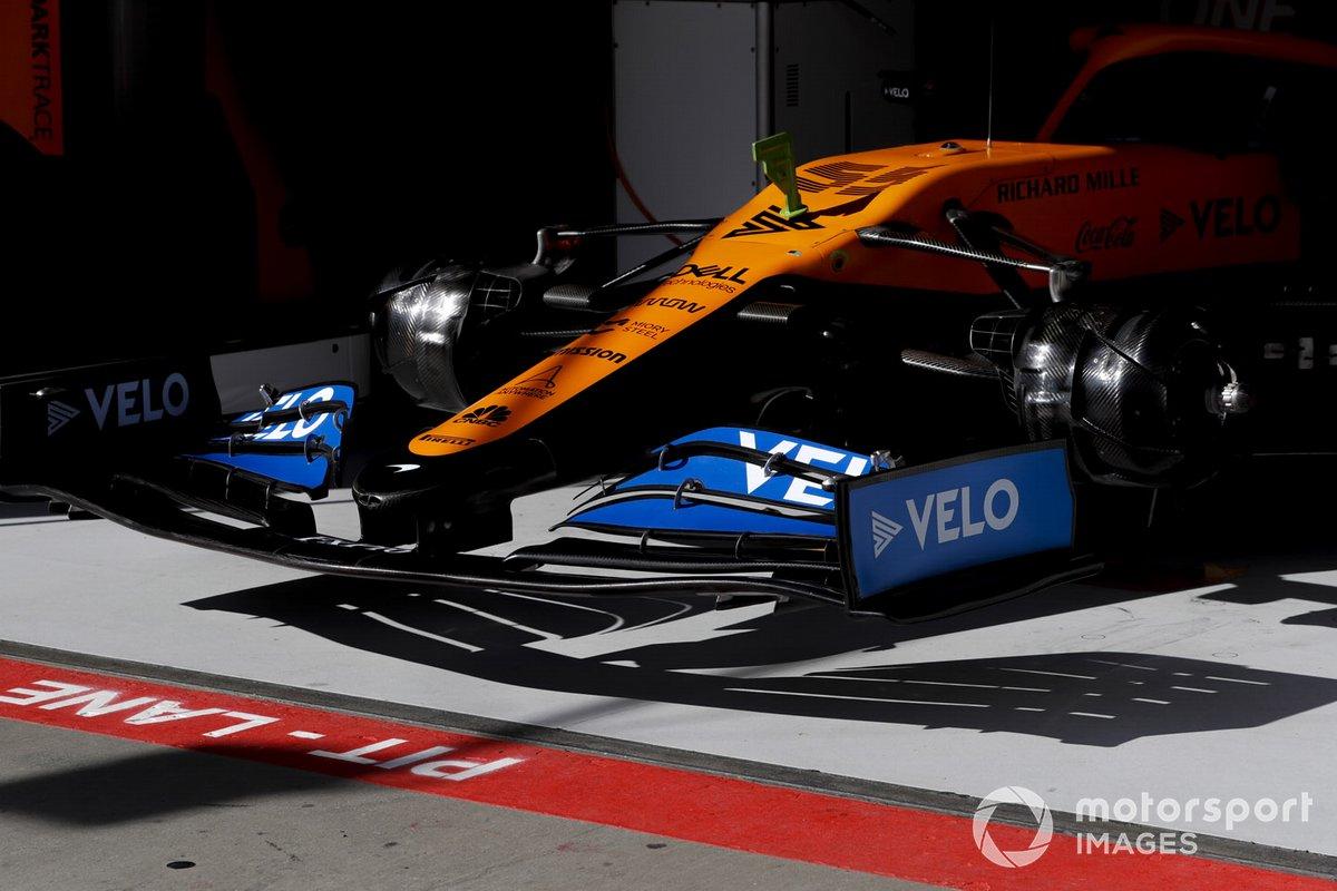 Monoplaza de Carlos Sainz Jr., McLaren MCL35