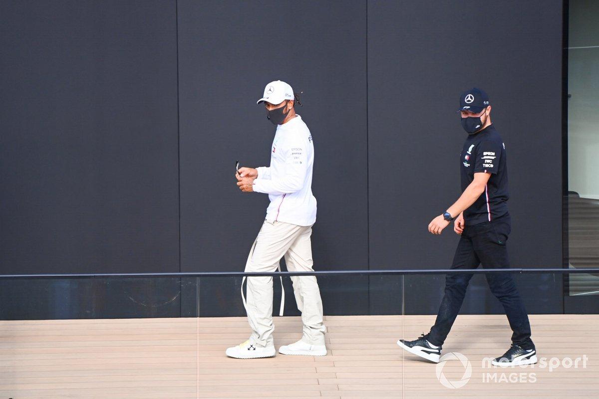 Lewis Hamilton, Mercedes-AMG Petronas F1 y Valtteri Bottas, Mercedes-AMG Petronas F1