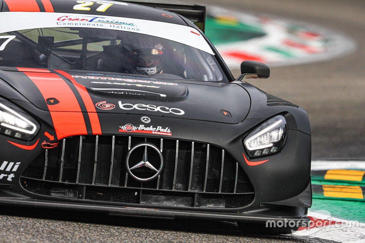 Lorenzo Ferrari, Loris Spinelli, AKM Motorsport, Mercedes AMG GT3