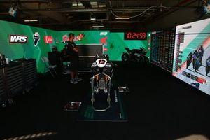 Box of Takumi Takahashi, MIE Racing Honda Team