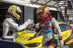 Timo Glock, BMW Team RMG, Robin Frijns, Audi Sport Team Abt Sportsline