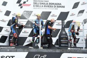Marco Bezzecchi, Sky Racing Team VR46, Enea Bastianini, Italtrans Racing Team