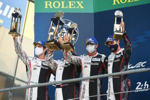 Second place #1 Rebellion Racing Rebellion R-13: Bruno Senna, Gustavo Menezes, Norman Nato