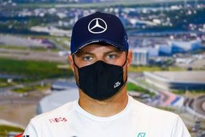 Valtteri Bottas, Mercedes-AMG F1, in the press conference