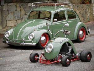 Volkwagen Beetle kart