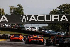 #74 Riley Motorsports Mercedes-AMG GT3, GTD: Lawson Aschenbach, Gar Robinson, #76 Compass Racing McLaren 720S GT3, GT3: Corey Fergus, Paul Holton, #5 Mustang Sampling Racing / JDC-Miller MotorSports Cadillac DPi, DPi: Sebastien Bourdais, Joao Barbosa