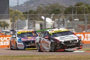 Nick Percat, Brad Jones Racing Holden, Shane van Gisbergen, Triple Eight Race Engineering Holden