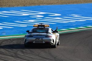 Bernd Maylander, Safety Car Driver, FIA, waves from the window of the Safety Car
