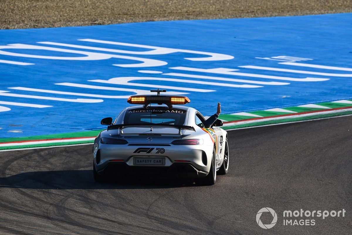 Bernd Maylander, piloto del Safety Car