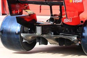The rear of the Ferrari SF1000