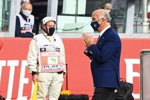 Angelo Sticchi Damiani, President, Automobile Club d' Italia, on the grid