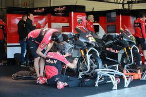 Moto de Alvaro Bautista, Aruba.it Racing-Ducati SBK Team