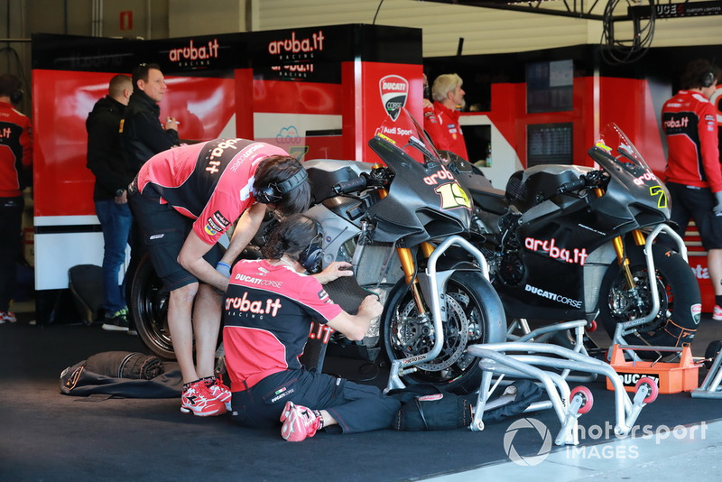 La moto di Alvaro Bautista, Aruba.it Racing-Ducati SBK Team