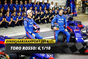 Eindrapport 2018: Toro Rosso