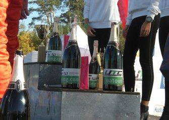 Шампанське на подіумі