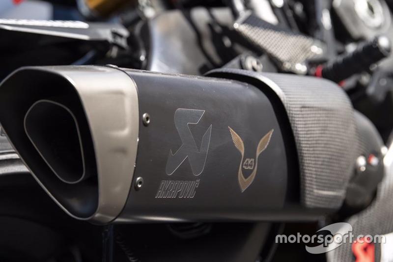La Yamaha R1M con la que rodó Hamilton en Jerez
