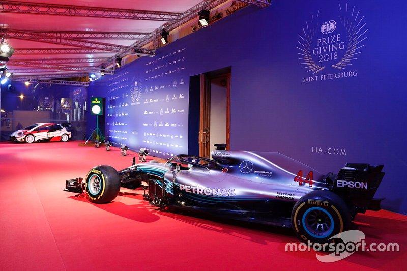La Mercedes-AMG F1 W09 de Lewis Hamilton