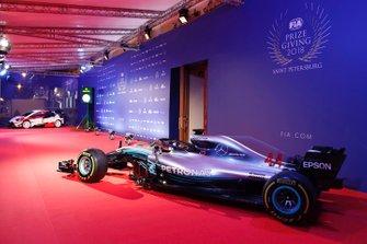De Mercedes-AMG F1 W09 van Lewis Hamilton