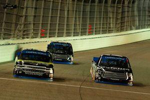 Noah Gragson, Kyle Busch Motorsports, Toyota Tundra Safelite AutoGlass and Justin Haley, GMS Racing, Chevrolet Silverado Fraternal Order Of Eagles