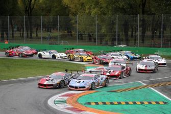 #84 Ferrari 488, Octane 126: Bjorn Grossman e #2 Ferrari 488, Rossocorsa: David Fumanelli