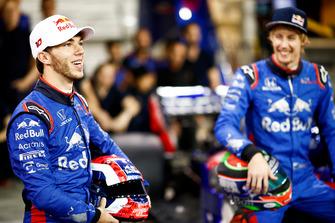 Pierre Gasly, Scuderia Toro Rosso, et Brendon Hartley, Scuderia Toro Rosso