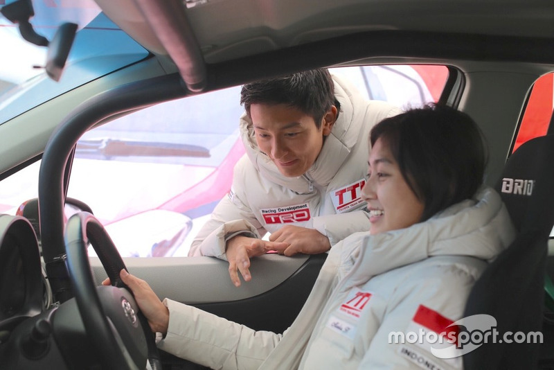 Alinka Hardianti, Toyota Team Indonesia, Rio Haryanto, Toyota Team Indonesia