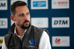 Florian Kamelger, fondateur et propriétaire d'AF Racing AG et directeur du team R-Motorsport.
