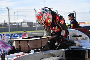 Kevin Magnussen, Haas F1 Team VF-18, parc ferme
