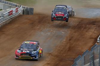Robin Larsson, Olsbergs MSE, Sébastien Loeb, Team Peugeot Total
