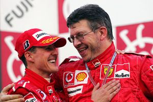 Michael Schumacher, Ferrari, Ross Brawn, Ferrari Technical Director
