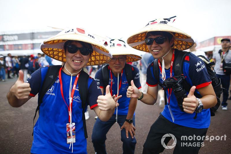 Toro Rosso Honda fans