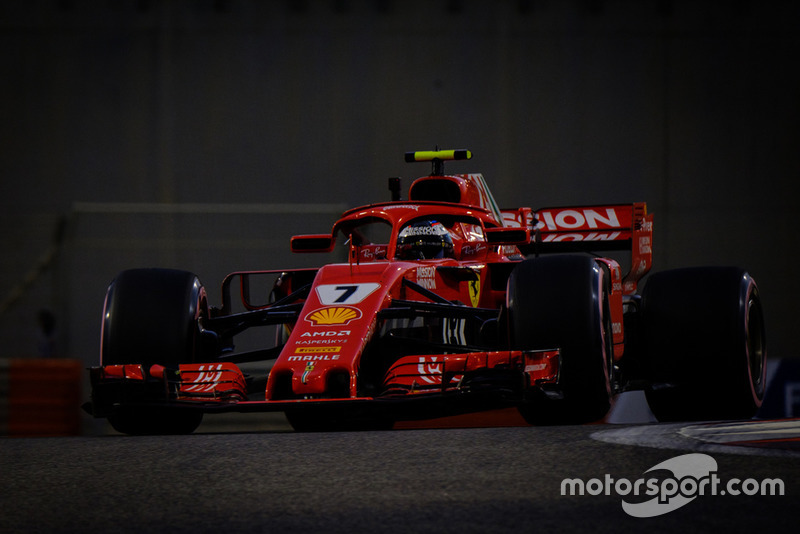 Raikkonen's final race for Ferrari ends in retirement