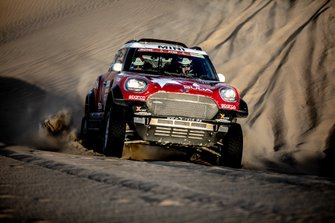 #321 X-Raid Team Mini: Boris Garafulic, Filipe Palmeiro