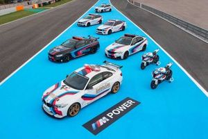 L'ensemble des véhicules BMW M du MotoGP