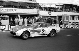 Henri Greder (FRA) / Marie-Claude Beaumont (FRA) Greder Racing Chevrolet Corvette Stingray