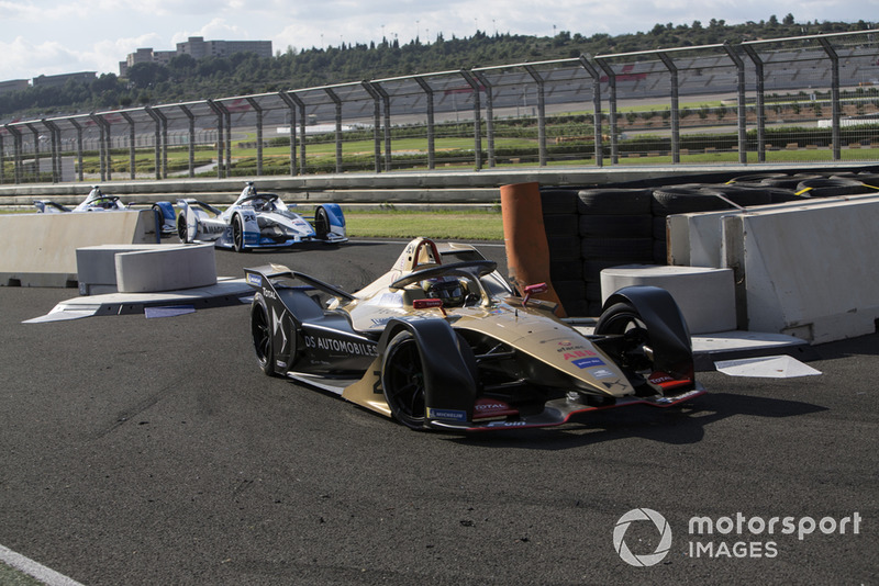 Jean-Eric Vergne, DS TECHEETAH, DS E-Tense FE19, Alexander Sims BMW I Andretti Motorsports, BMW iFE.18